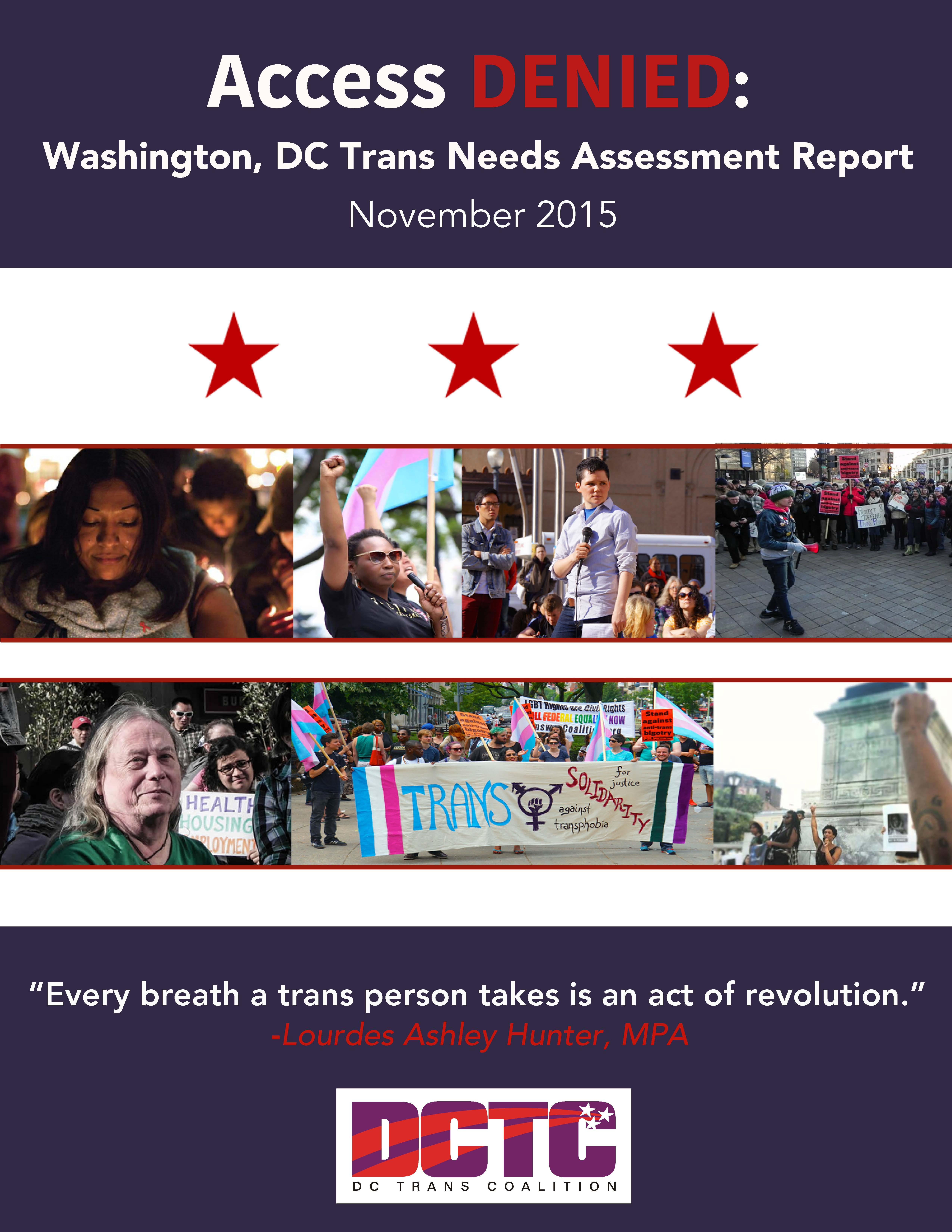 gaydek.net 8 of image Check it out! Access Denied: Washington, DC Trans Needs Assessment Report